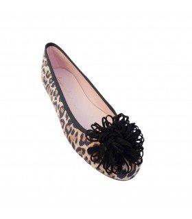 Bailarina Coral Leopardo